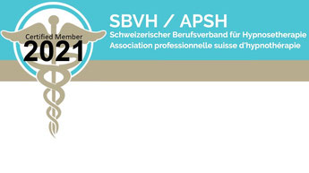 Mitglied beim schweizerischen Berufsverband für Hypnosetherapie - De Rosa Hypnosetherapie Luzern