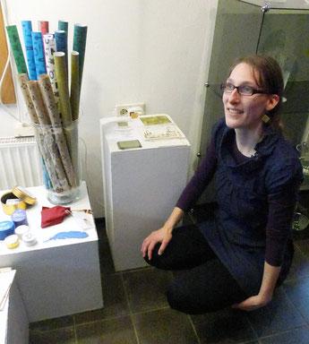 Kathrins Papier Ausstellung Frühling Spritzenhaus Wennigsen