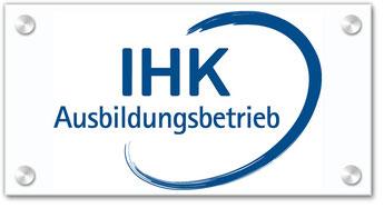 Wir sind ein anerkannter Ausbildungsbetrieb der IHK Stuttgart