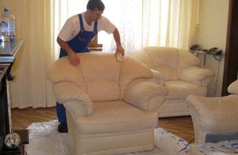 чистка кожаной мебели в Митино