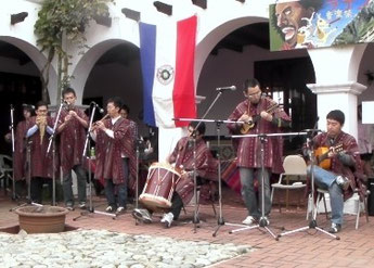 ボリビア小町 in リトルワールド(ラテン音楽祭2008)