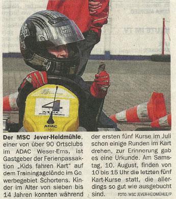 Wilhelmshavener Zeitung 08. August 2019