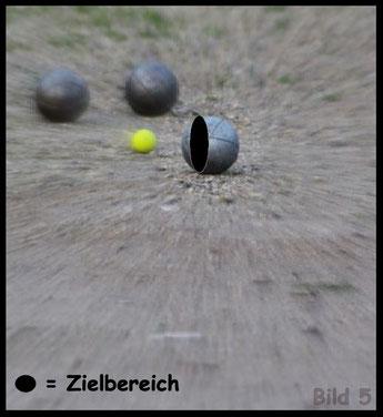 Boule - Pétanque / Schusstraining / Tireurtraining im Spiel 5
