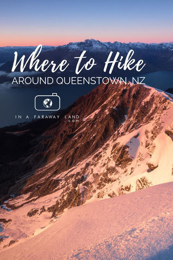 Explore Queenstown by foot by checking out these 7 amazing day hikes!  #NewZealand #Queenstown #Hiking