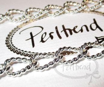 Halsketten Silberfarben 86-100cm