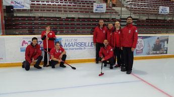 Les deux équipes de Valence présentes à Marseille