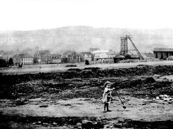 dudweiler, saarland, bergbau, richardschacht, 1866,