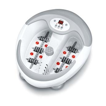 Beurer FB50 Multifunktions Fußmassage gerät Infrarotlicht