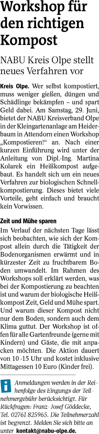 Westfalenpost, 19.02.2019
