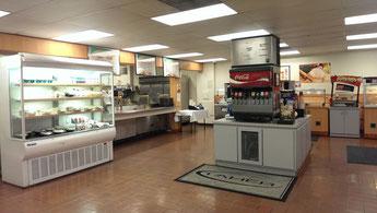 マーセッド大学内のFresh Seasons Cafe