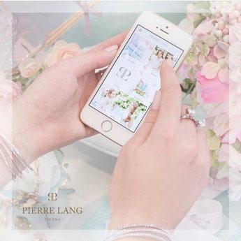 Pierre Lang App, Online bestellen per App