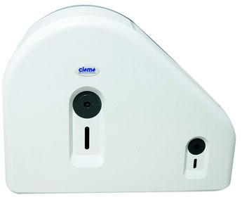Toilettenpapierspender, Restrollenfunktion, weiß