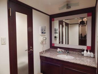 川崎 ホテルJクラブ 302号室 洗面所