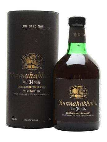 Bunnahabhain 34 Jahre
