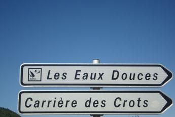 LES EAUX DOUCES ,entre SAVINES LE LAC  et LES CROTS.  05200 . TEL 0652394248