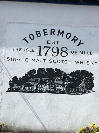 Tobermory auf der Isle of Mull