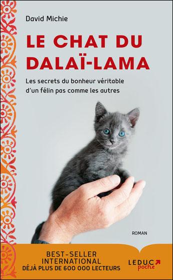 le chat du Dalai-Lama tome 1, Pierres de Lumière, tarots, lithothérpie, bien-être, ésotérisme