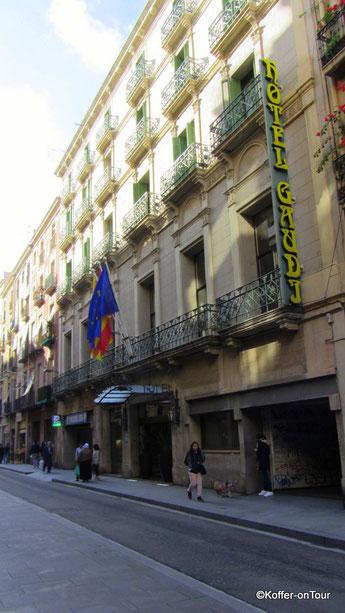 Hotel Gaudi in Barcelona