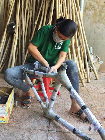 NGO Produktion im Vietnam