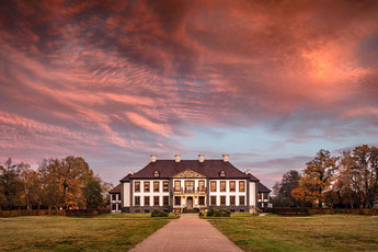 Schloss Oranienbaum im  Dessau-Wörlitzer Gartenreich