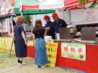 北本あきんど市(2015/6/12) ヨコミゾフーズ
