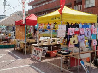 北本あきんど市(2015/6/15) ジャノメミシン鴻巣店
