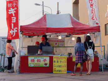 北本あきんど市(2015/7/10) ヨコミゾフーズ