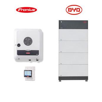 Fronius Symo GEN24 Plus + BYD B-BOX HVM Speicher