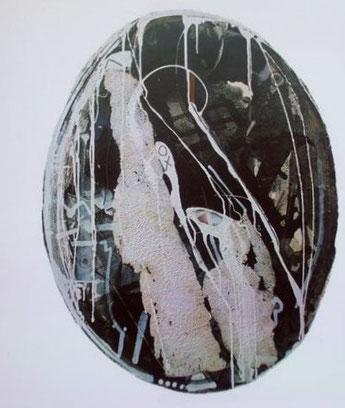 ROSETTA D'ALESSANDRO.  Creazione n 1, Tm  on Paper-ovale