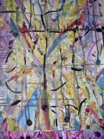 M.L. RICCOBONO. Resurrezione tm on canvas