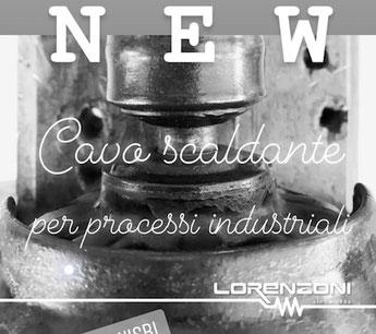 cavi scaldanti industriali lorenzoni