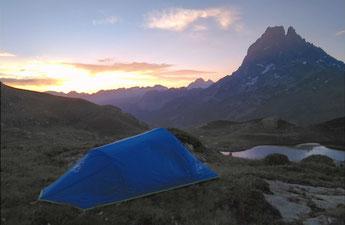 bivouac randonnée alpinisme pyrénées béarn