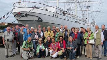 Kulturreise 2014 an die Nordsee und Ostsee