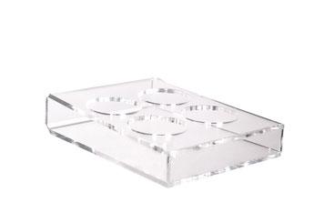 Wraphalter für 4 Wraps 9402526, FMU GmbH, Verkaufshilfen