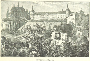 Symbolbild Stadt Kuttenberg historisch Schloss