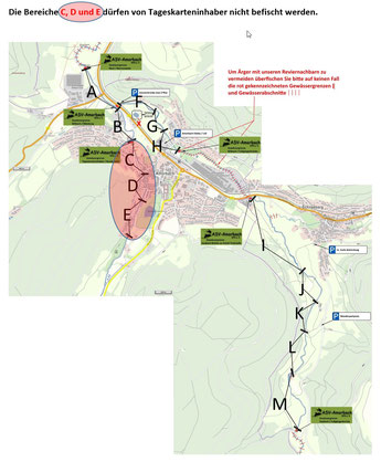 Mud-Amorbach, Billbach, Saubach
