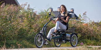 Dreiräder Probefahrt bei den Experten in Tuttlingen