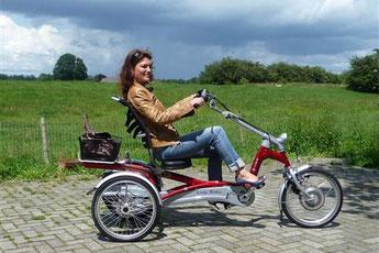 Dreiräder Probefahrt bei den Experten in Berlin