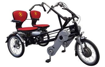 Pfau-Tec Front-Dreirad Tibo finanzieren mit 0% Zinsen bei den Dreirad Experten Dreirad-Zentrum Heidelberg - Dreiräder und Elektro-Dreiräder für Erwachsene