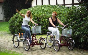 Dreirad Zentrum Werder Beratung, Probefahrt und kaufen