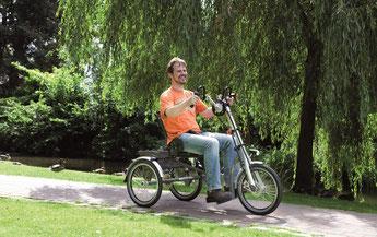Dreirad Zentrum Karlsruhe Beratung, Probefahrt und kaufen