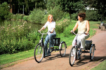 Dreiräder Probefahrt bei den Experten in Münster