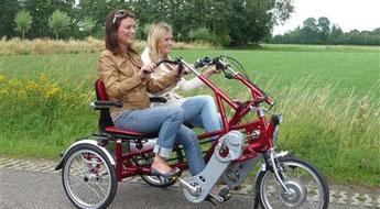 Dreiräder Probefahrt bei den Experten in Lübeck