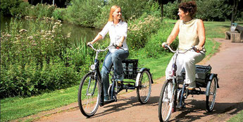 Dreiräder Probefahrt bei den Experten in Gießen