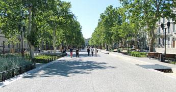 Avenue de Fougères