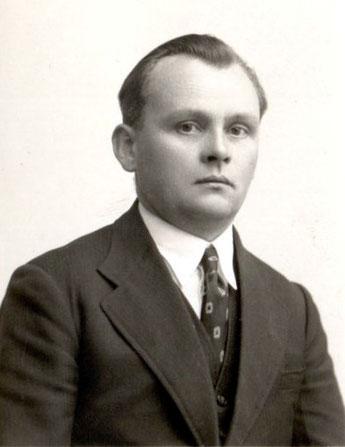 Otto Huber um ca. 1930