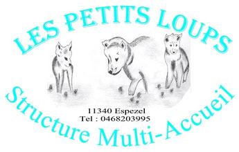 logo creche les Petits Loups à Espezel