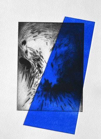 Schöpfen • 2021 • engraving print on paper • 26,5 x 19,5 cm