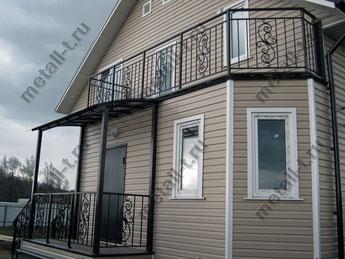 ограждения балконов и террас
