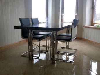 каркас обеденного стола